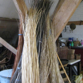 Preparation for the fine willow skeinwork
